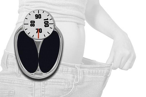 살을 빼다, 규모, 다이어트, 중량, 잃고, 몸, 중량이 초과 된, 비만