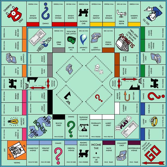 Free Illustration Monopoly Game Board Game Fun Free