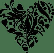 heart stencil cutting file free