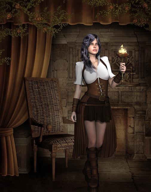 Girl Hair Steampunk Free Image On Pixabay