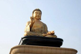Buddismo, Budda, Cuore, Statue Di Buddha