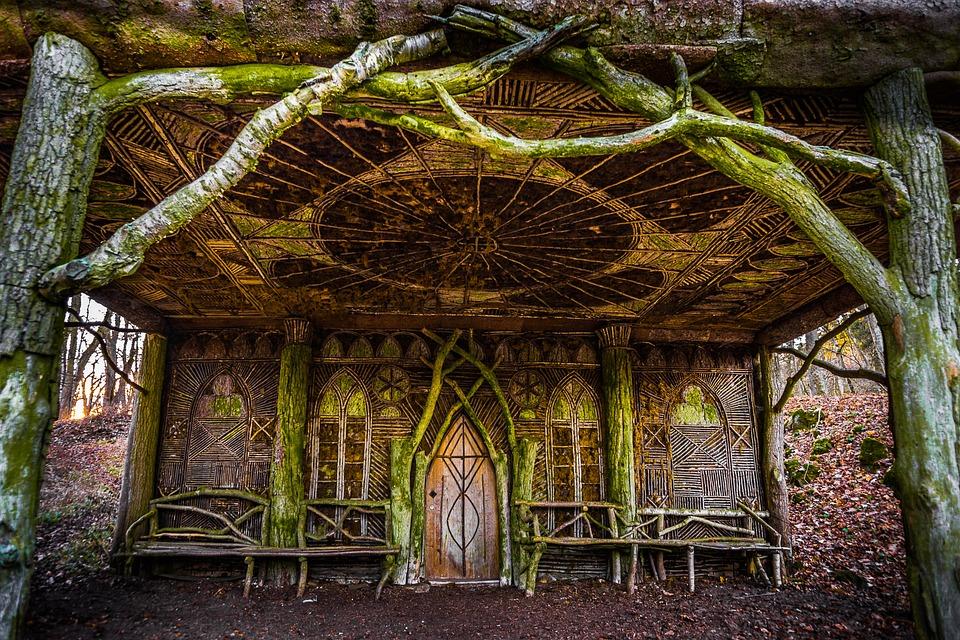 Fall Cottage Wallpaper Hut Landscape Nature 183 Free Photo On Pixabay