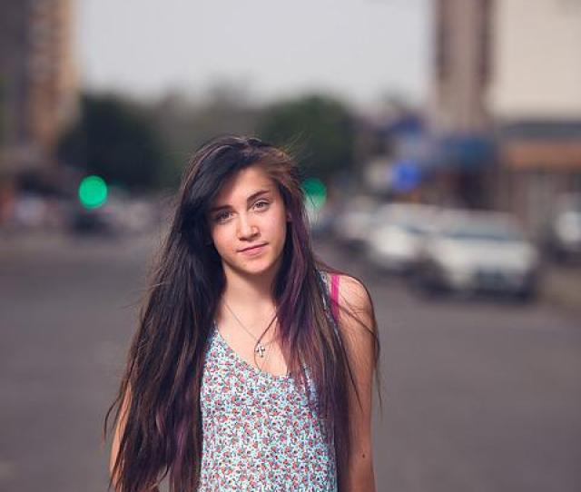 Teen Girl Female Young Teenager Attractive Smile