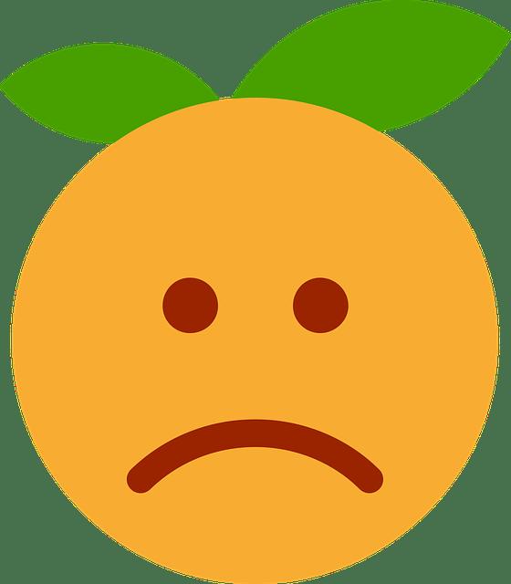 Image Vectorielle Gratuite Clmentine Orange Dessin