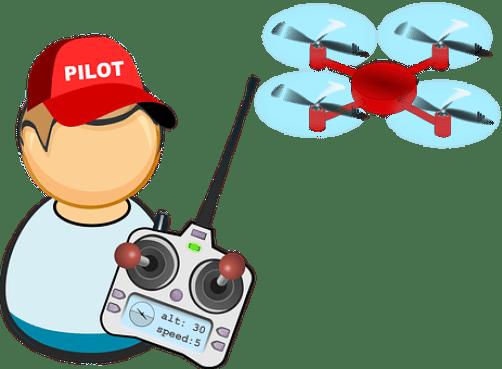 空気, ドローン, フライト, 職業のアイコン, パイロット, 平面, リモート