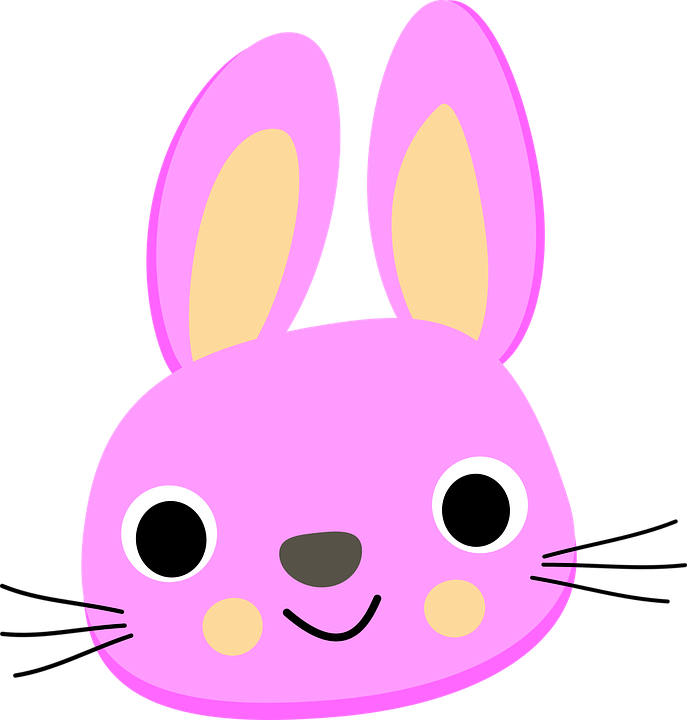 Cute Easter Bunny Faces
