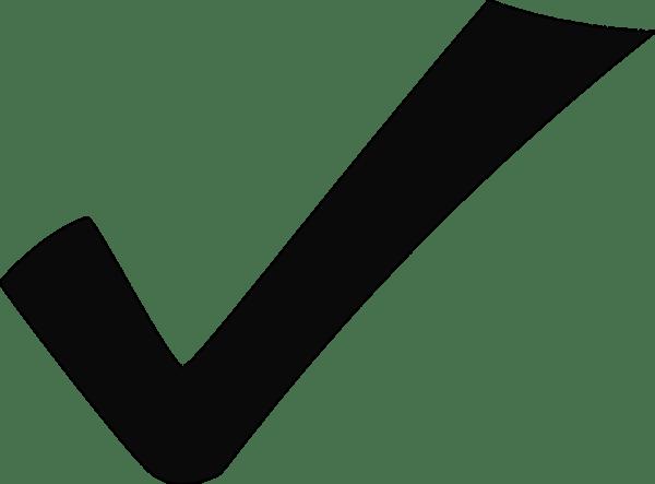 check mark tick free vector