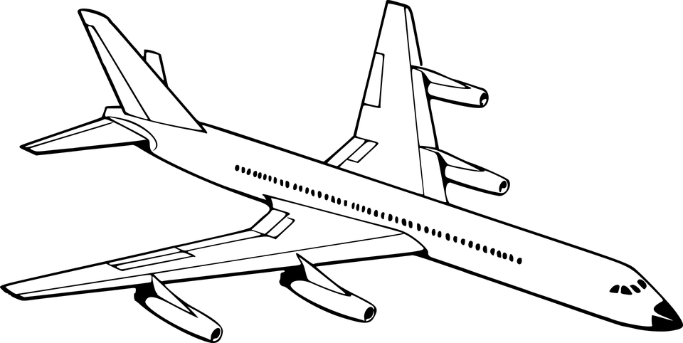 Aeroplane Aircraft Airplane · Free vector graphic on Pixabay
