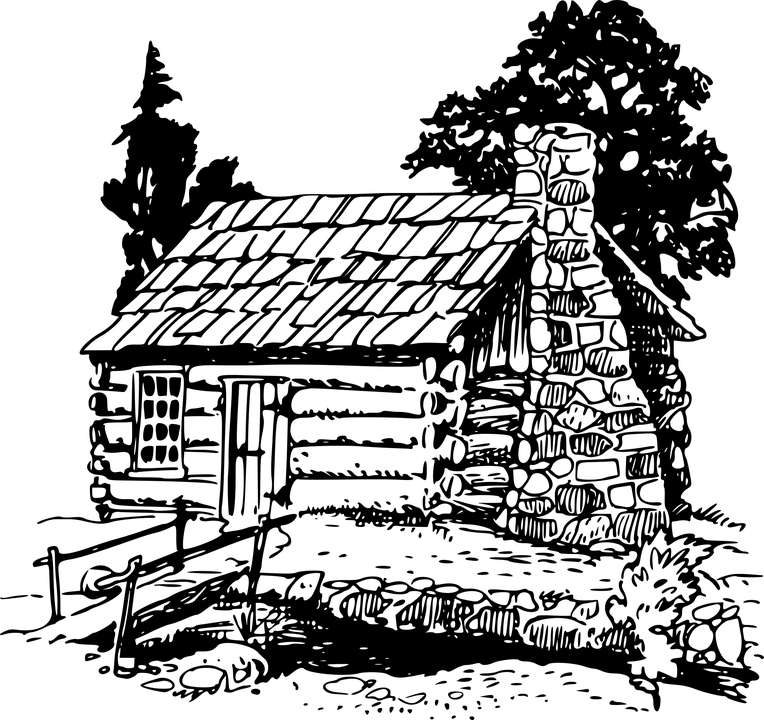 Free vector graphic: Building, Cabin, Home, House, Log
