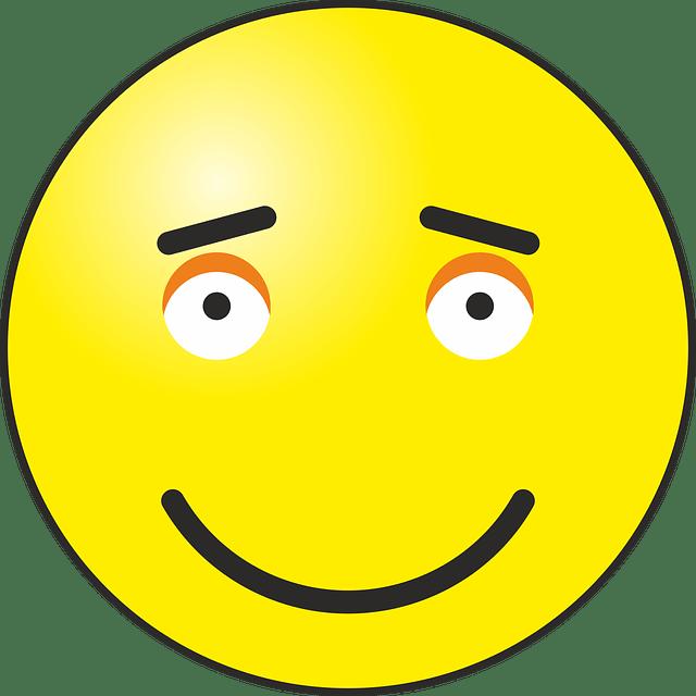 Gambar vektor gratis Bahagia Smiley Emoticon Emosi