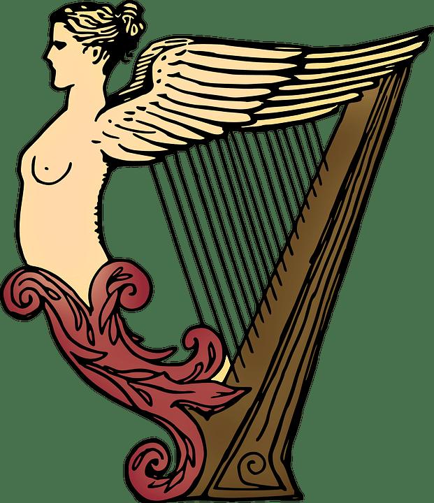 100 free harp music