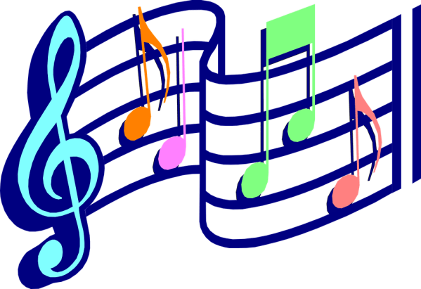 music notes melody free vector