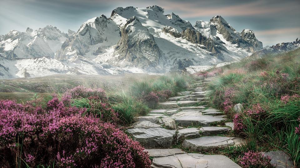 mountain landscape mountains free