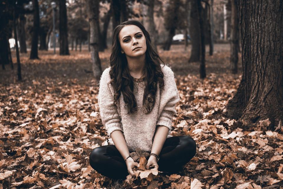 sad girl sadness broken