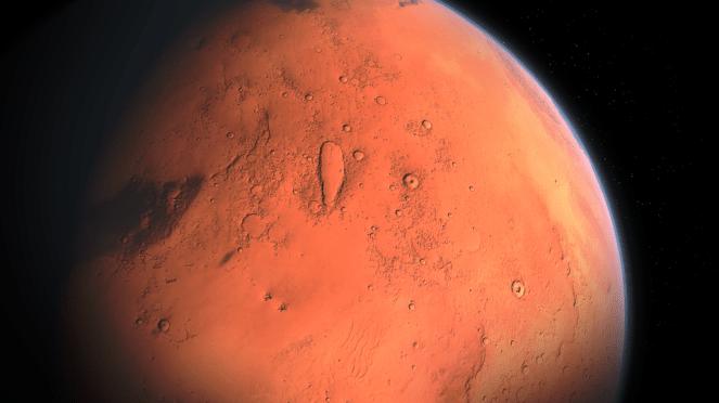 Marte, Terra, Planeta, Cosmos, Estrelas, Infinito