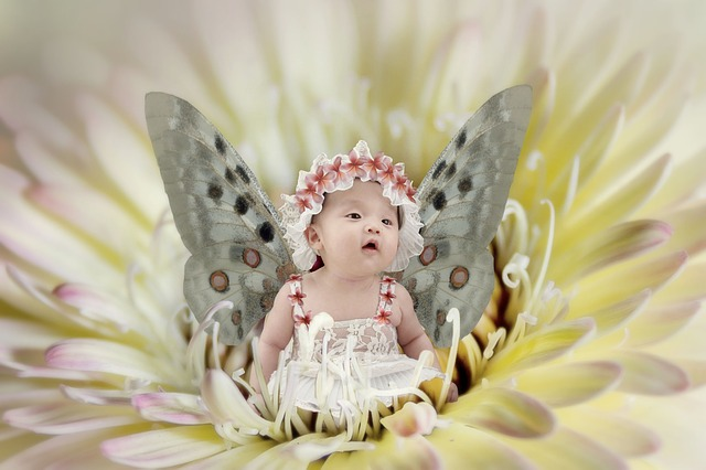 Sleeping Cute Baby Wallpaper Fairy Baby Fantasy 183 Free Image On Pixabay
