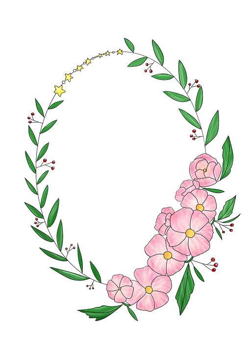 Wreath Corolla Flowers  Free image on Pixabay