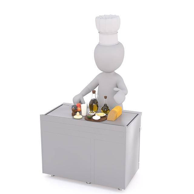 Koch Kochen Weie Mnnchen 3D  Kostenloses Bild auf Pixabay