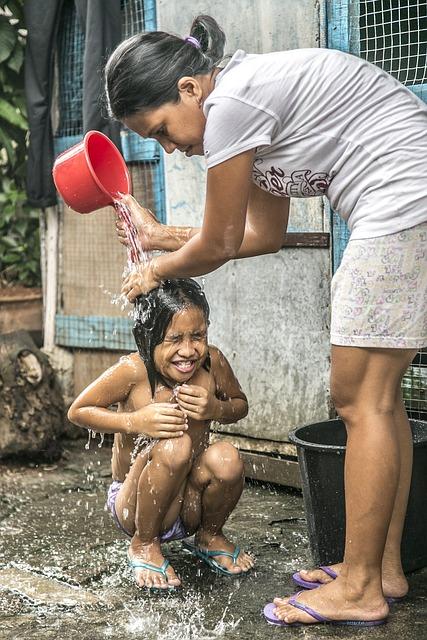 Bath Shower Children Mother  Free photo on Pixabay