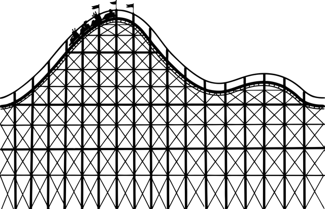 Roller Coaster Amusement Park · Free vector graphic on Pixabay