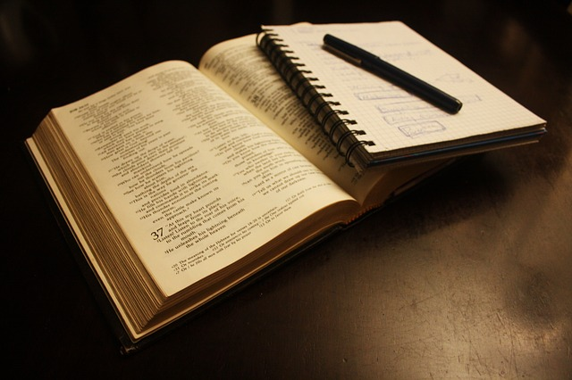 Free photo Book Bible Text Literature  Free Image on