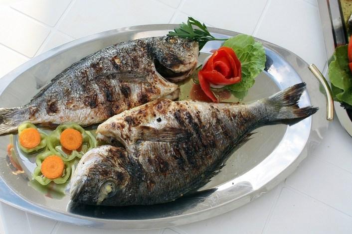 Peixe, Grill, Grelhar, Alimento Natural, Jantar, Comer