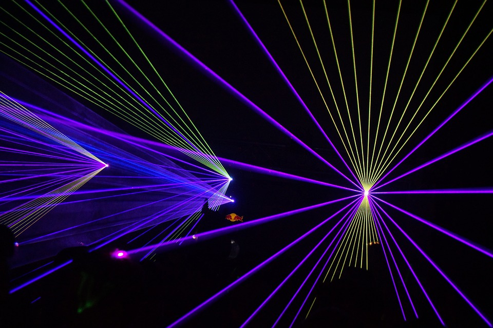 Electro Girl Wallpaper Hd Laser Show Disco 183 Free Image On Pixabay