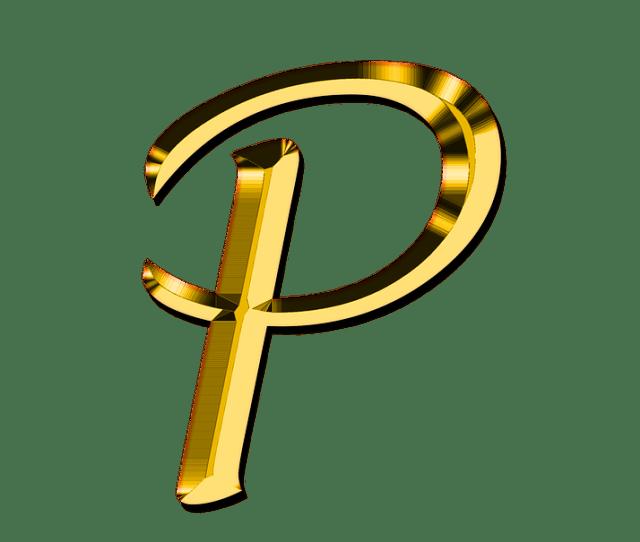 Letters Abc P Alphabet Learn Education Read