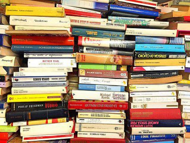 Books, Book Stack, Stack, Literature