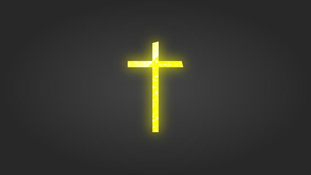 Cross Yellow Christian  Free vector graphic on Pixabay