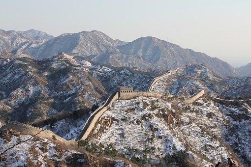 China, Marele Zid Chinezesc, Iarnă
