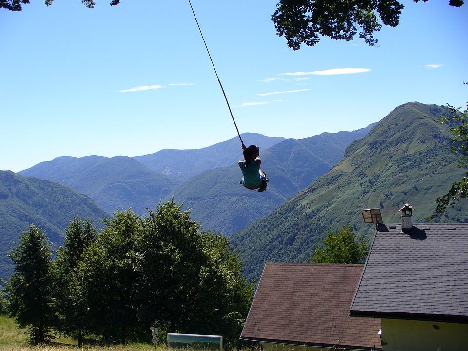 Leagăn, Montevecchio, Munte