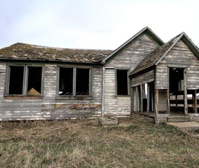 Old Farm House Decay Home Farm Architectur