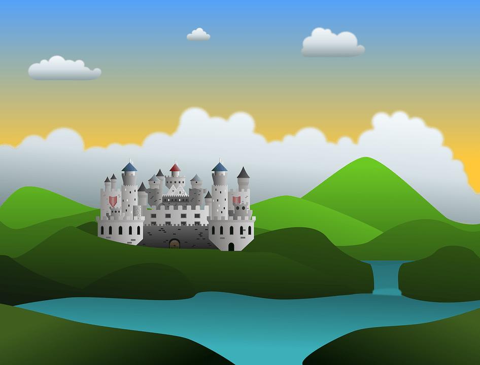 Landscape Castle Mountains  Free image on Pixabay