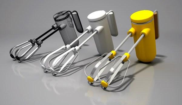 Blender, Drummer, Kitchen, Utensil, 3D, Mixer, Made