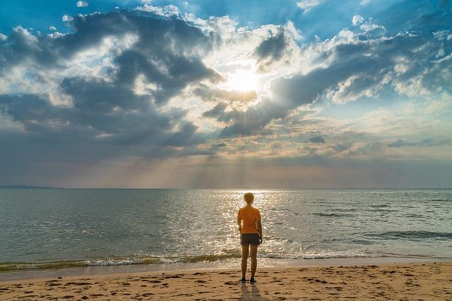Lonely Boy Wallpaper Hd Woman Beach Sand 183 Free Photo On Pixabay