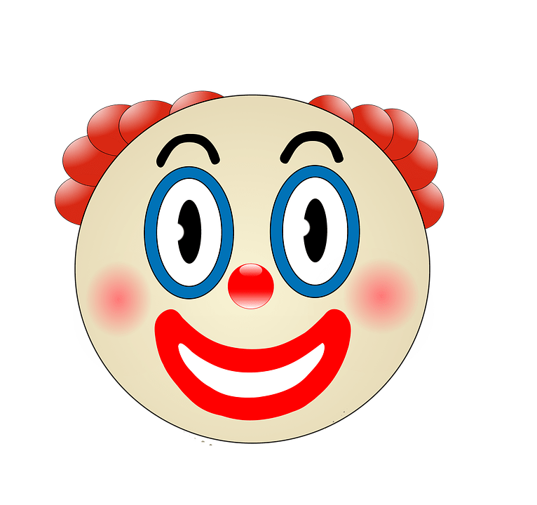 Smiley Girl Wallpaper Clown Funny Make Up 183 Free Image On Pixabay