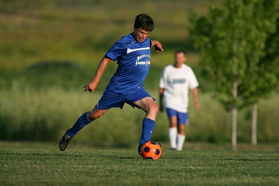 Voetbal, Kick, Bal, Game, Spelen, Sport, Gebied