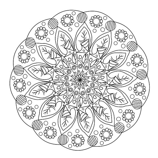 Blomster Mandala Hånd · Gratis billeder på Pixabay