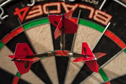 Darts, 180, One, Hundred, And, Eighty