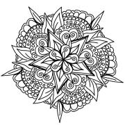 drawing mandala design free