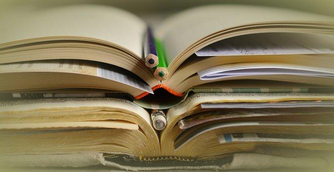 Books, Study, Literature, Learn, Stack