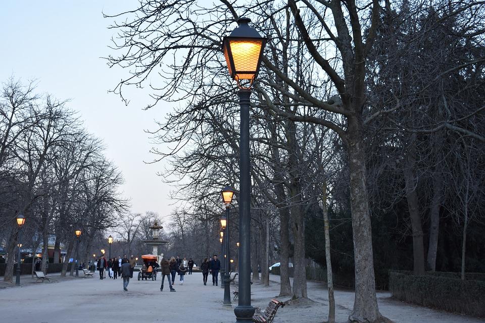 Madrid Park Lights  Free photo on Pixabay