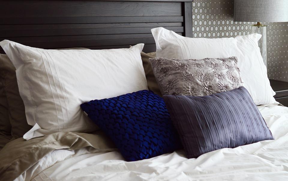 Bed Pillows Headboard  Free photo on Pixabay