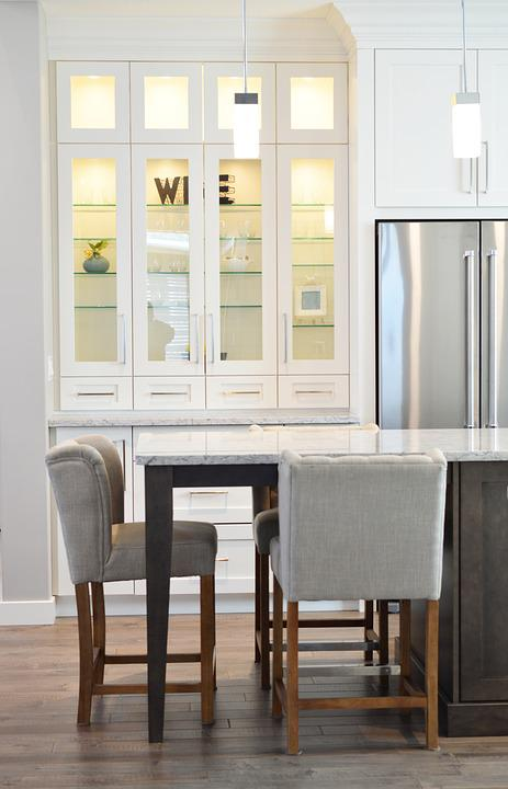 blonde kitchen cabinets prefab island 厨房文件柜计数器 pixabay上的免费照片 厨房 文件柜 计数器 椅子 冰箱 室内 首页 厨柜 装潢 现代 家具 房间 座位
