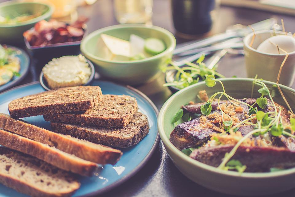 Brood, Ontbijt, Diner, Gezond, Keuken, Heerlijke