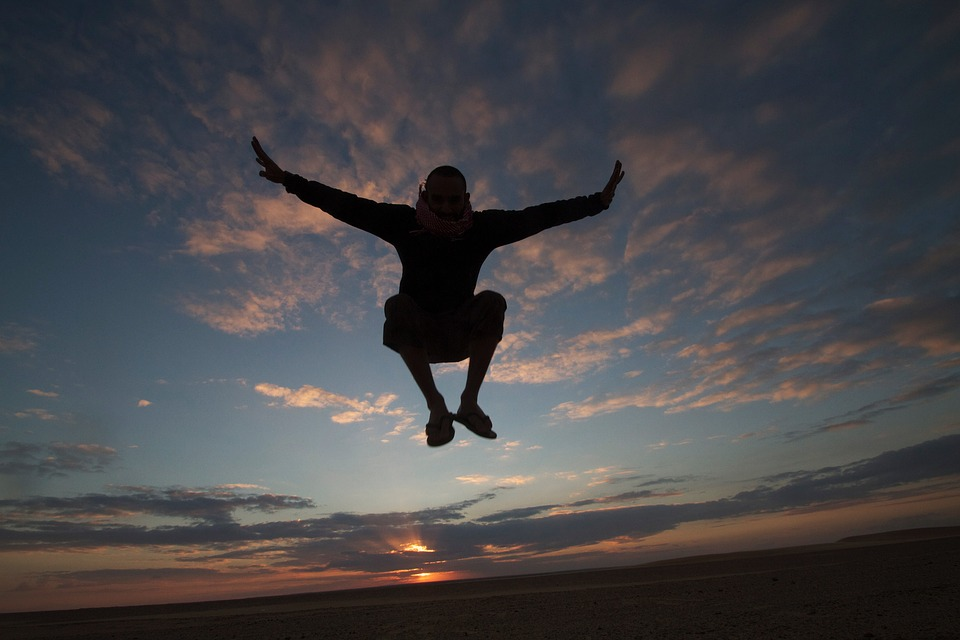 Freedom Jumping Playing  Free photo on Pixabay