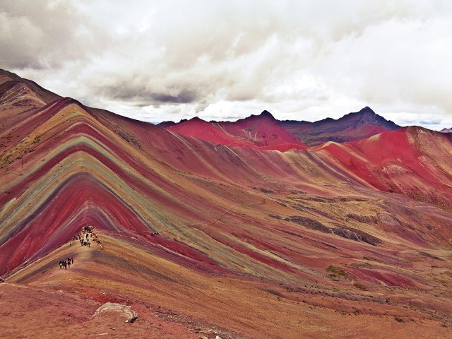 The Rainbow Mountains in Peru