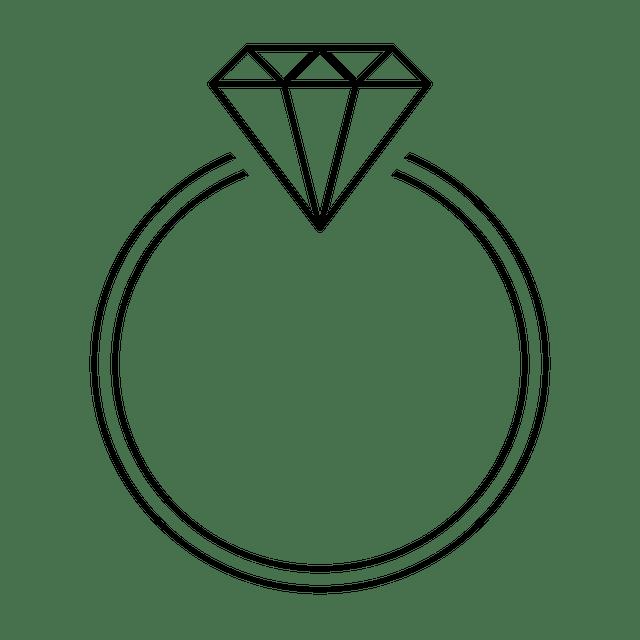 Ring Diamond Black Transparent Free Image On Pixabay