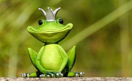 Frog, Frog Prince, Prince, Figure, King, Crown, Sahasrara